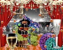 Champagne Mood Board